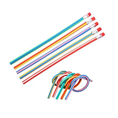 Lápices Bendy, 40 bolígrafos mágicos de colores para niños, diversión escolar, premios, regalos de fiesta ✅