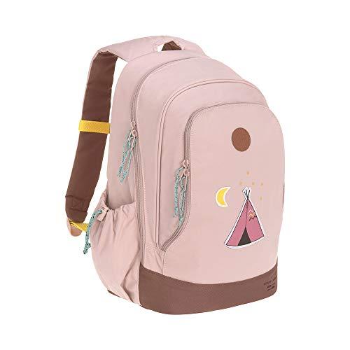 LÄSSIG Kinderrucksack Kindergartentasche Kindergartenrucksack groß mit Brustgurt ab 5 Jahre/Backpack Big Adventure Tipi