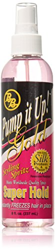 Bronner Brothers Pump It Up Spritz Gold, 8 Ounce by Bronner Brothers
