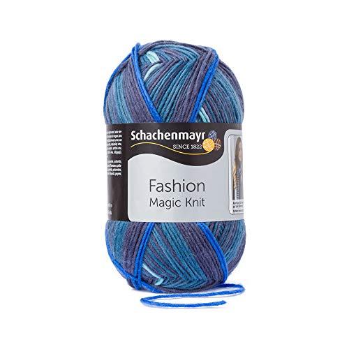Schachenmayr Handstrickgarne Magic Knit, 200g Blue Stripe
