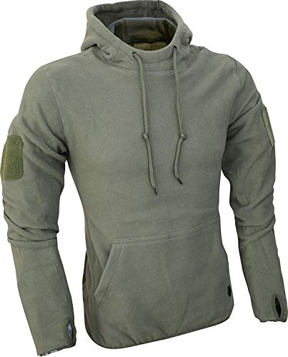 Viper TACTICAL - Herren Fleece-Kapuzenpullover - Grün - XL