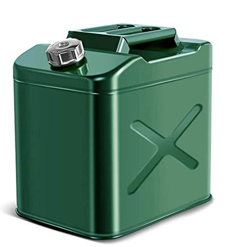 Oceanindw Espesado Lata de Gas, Ajustado Sellado Combustible Tanque con Manejas, Flexible Caño y Kit de ventilación, Emergencia Respaldo Metal Gasolina Diesel Envase por Carros Barco