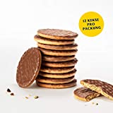 McVitie s Digestive Milk Chocolate 1 x 200 g – knusprige Kekse mit Schokoladenüberzug – Bisquits nach traditioneller Rezeptur – Milchschokolade