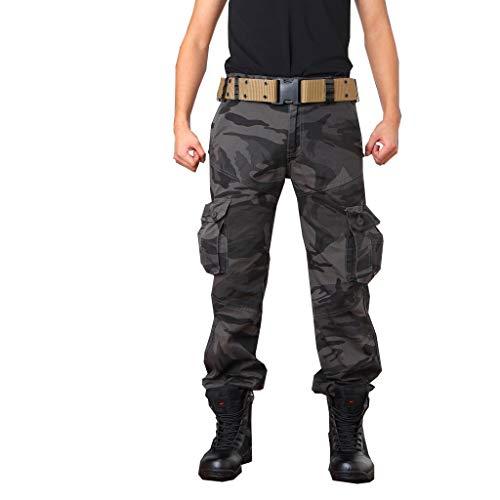 AUYUG Pantalón Militar Hombre Camuflaje Pantalones Cargo Hombres Trabajo...