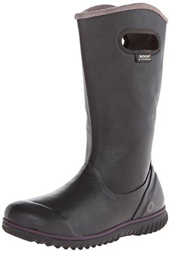 BOGS womens Juno Tall-w snow boots, Black, 10.5 US