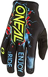 O'Neal Children's Gloves Matrix Villain Youth, Black, M, 0388-VYouth