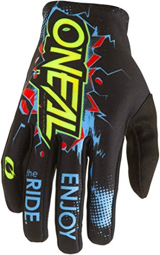 O'Neal Kinder Handschuhe Matrix Villain Youth, Schwarz, M, 0388-VYouth