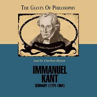 Immanuel Kant audiobook cover art