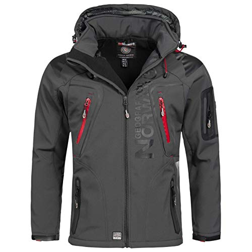 Geographical Norway Herren Jacke Techno Men 007/RPT Dark Grey M