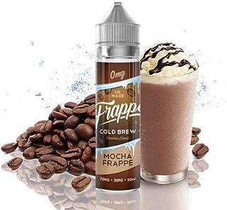 LIQUIDO PARA VAPEAR FRAPPE COLD BREW, MOCHA FRAPPE, CAFE CON CHOCOLATE HELADO, 50ml