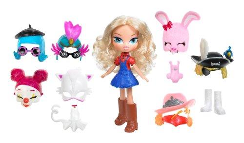 Bratz - 393528 Kidz4Ever - Maskenball - Puppe - Cloe - ca. 13 cm - mit 7 lustigen Masken 7 niedliche Modeteile