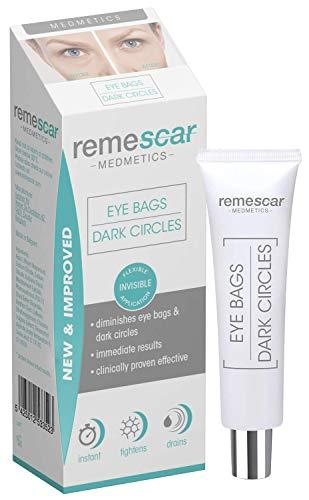 Remescar - Remescar Fórmula Nueva y Mejorada Bolsas y ojeras 2 - Crema para las bolsas de los ojos - Corrector de ojeras - Elimina las bolsas - Tratamiento instantáneo para bolsas de ojos