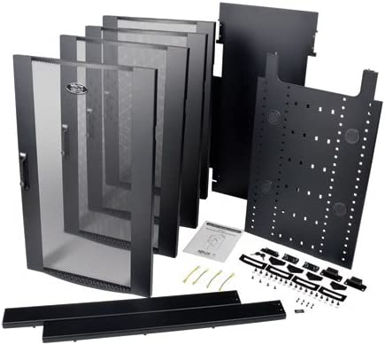 Tripp Lite 42U Rack Enclosure Server Cabinet Colocation Kit Dual 20URM SRCOLOKIT42U
