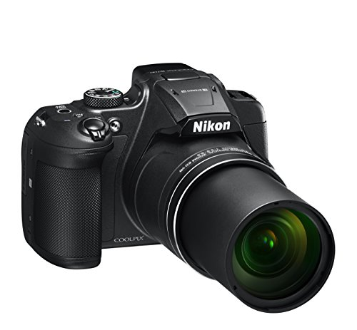 Nikon COOLPIX B700 Brückenkamera 20,3 MP CMOS 5184 x 3888 Pixel 1/2.3 Zoll Schwarz - Digitalkameras (20,3 MP, 5184 x 3888 Pixel, CMOS, 60x, 4K Ultra HD, Schwarz)