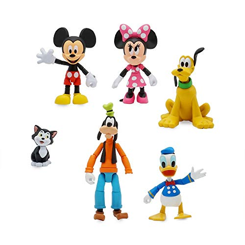 Disney Mickey Mouse and Friends Action Figure Gift Set Toybox