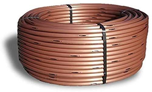 WXG Tubo de Goteo 16 mm, 33 cm - ecualización de presión 2,3 l/h bajo Tierra (25 Metros), 25 Metros