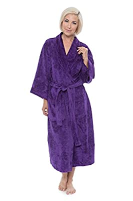Women's Terry Cloth Bathrobe (Venice) Eco-Friendly Gifts by Texere
