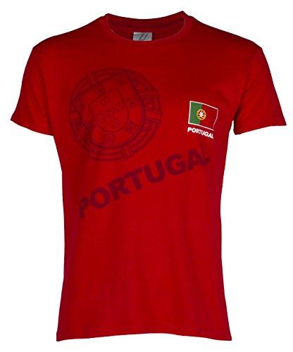 T-shirt Portugal – collectie zussen, volwassenenmaat, voor heren