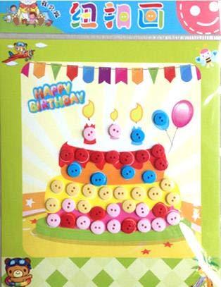 BLOUR 12 pro Taschehandgemachtes Spielzeug/Cartoon Knopf Sprite/Kinderzimmer Cartoon DIY Knöpfe/Verpackungsmaterial Paste/Collage Knöpfe Kind