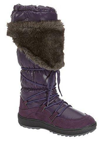 Kimbertex - Damen Winterstiefel mit Warmfutter Snowboots lila (39)