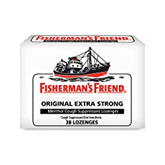 LEGENDARY STRENGTH SINCE 1865 - Fisherman's Friend Original Extra Strong lozenges use the same all natural, strong and effective formula that's been in production since 1865. Our medicated lozenges have been tried and trusted for generations STRONGES...