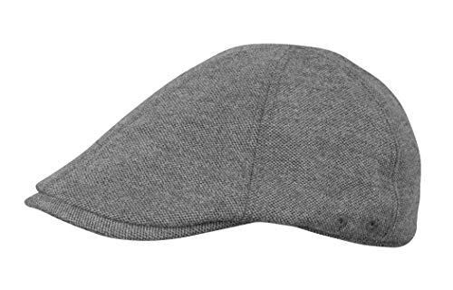 Broner Mens 6 Panel Pub Cap with Breathable Mesh Lining Charcoal