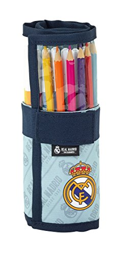 Roll-Up etui voor school Real Madrid Corporativa - Officieel - gevuld