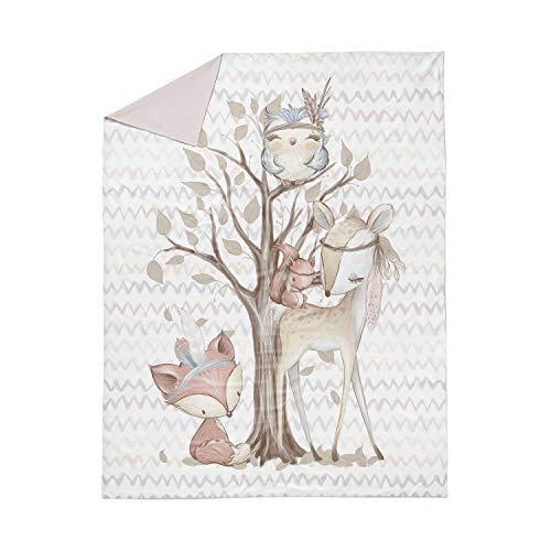 Ropa de cama infantil para coser | Panel de tela de animales en XXL = 150 x 100 cm
