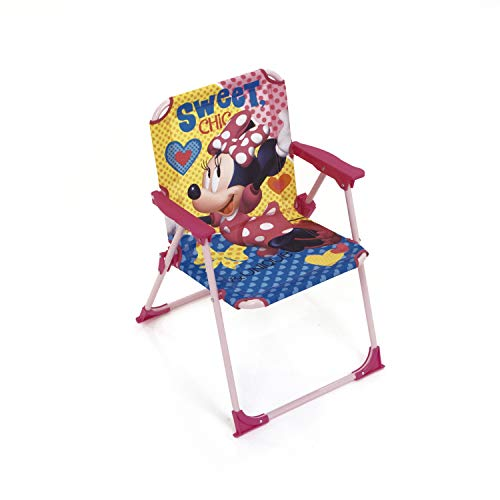 Fun House 712907/ Disney Minnie Silla/  / Silla de Camping Plegable para ni/ños