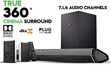 Nakamichi Shockwafe Pro 7.1.4 Channel 600W Dolby Atmos Soundbar with 8