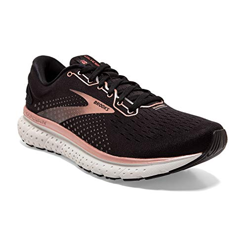 Brooks Glycerin 18 Black/Rose Gold/Grey 8 B (M)