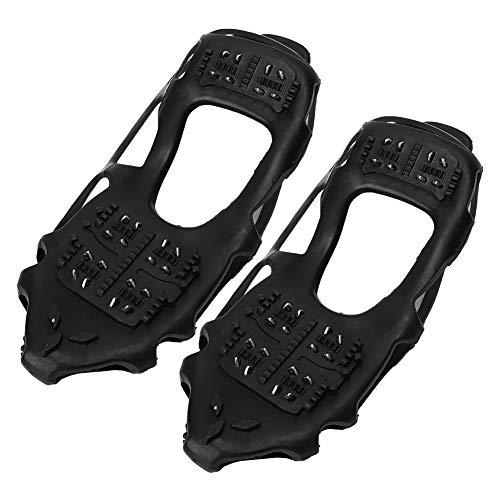 WNSC Climbing Spikes Steigeisen, Universal Skischuh Anti Slip Leichte Schneegriffe, für Stiefel Schuhe(L:39-42)