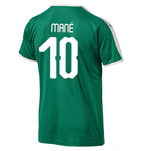 PUMA Mané #10 Senegal Away Men's Soccer Jersey World Cup Russia 2018 (XL) Green