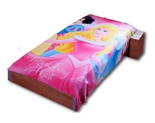 Disney XXL Fleecedecke Princess 200x150cm