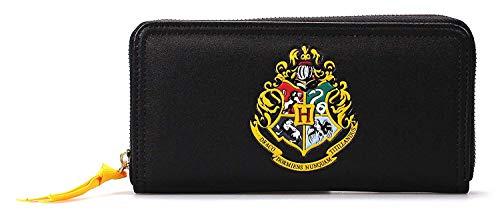 Harry Potter - Damen Geldbörse - Portemonnaie - Hogwarts Wappen - Logo