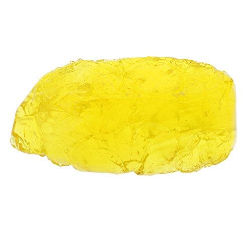 Harilla 200g / 500g 6 Colores Fragancia de Calidad Gel de Parafina Jalea Velas de Cera DIY - 500g Amarillo, como se Describe