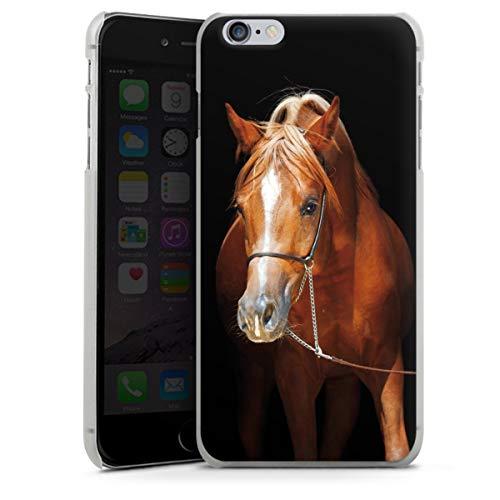 DeinDesign Hard Case kompatibel mit Apple iPhone 6s Plus Schutzhülle transparent Smartphone Backcover Pferd Hobby Stute