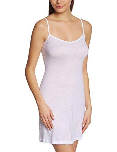 HANRO Damen Ultralight Bodydress Baby Doll, Weiß (white 0101), 46/48 (Herstellergröße: L)