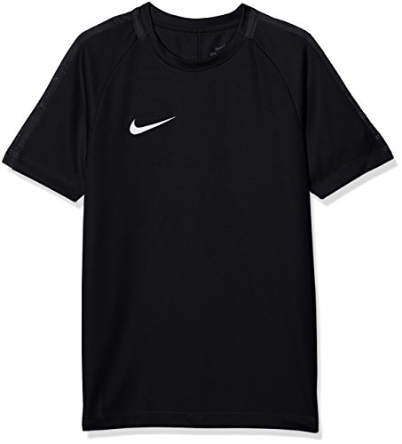 Nike Jungen Dry Academy 18 Football Top T-shirt, Schwarz (Black/Anthracite/White), XS