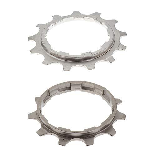 Desconocido Generic 2X MTB Bike Freewheel Casete Variable 11T / 13T Accesorio de Ciclismo