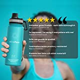 ACTIVE FLASK von BeMaxx Fitness 530ml (Aquatic Cyan) - 6