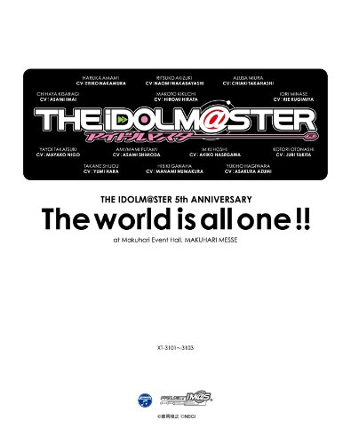 THE IDOLM@STER 5th ANNIVERSARY The world is all one !! Blu-ray BOX 《初回生産限定版》