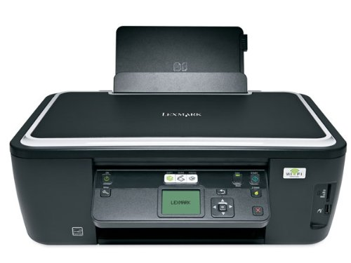 Lexmark Intuition S505 Inyección de Tinta 33 ppm 4800 x 1200 dpi A4 WiFi - Impresora multifunción (Inyección de Tinta, Impresión a Color, 4800 x 1200 dpi, 100 Hojas, A4, Impresión Directa)
