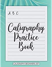 Caligraphy Practice Book Caligraphy Beginners Set: Handwriting Exercise Books / Caligraphy Kits / Hand Lettering Workbook / Learn Calligraphy Set For Beginners / Caligraphy Paper / Caligraphy Kit
