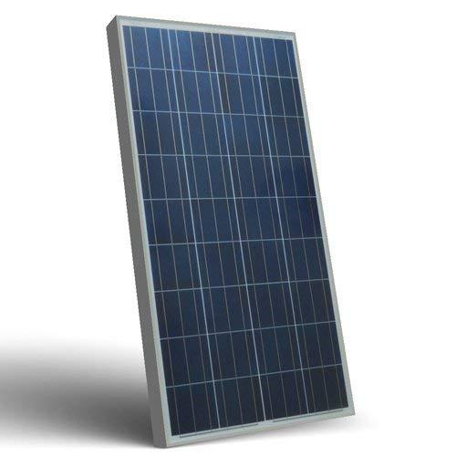 Placa Solar Fotovoltaico SR 150W 12V Policristalino adecuado para Camper Caravan Camperista Chalet Boot