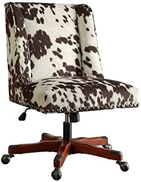 Riverbay Furniture Armless Upholstered Office Chair Udder Mad in 超人気 高い素材 専門店