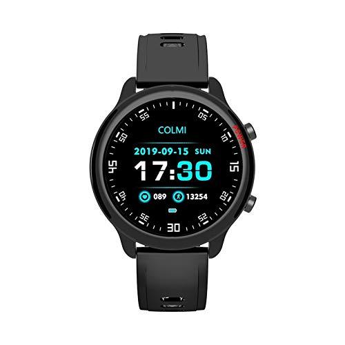 JIAYU Reloj Elegante, de 1,5 Pulgadas rastreador de Ejercicios Contador de Paso de la Aptitud Monitor de Ritmo cardíaco IP68 a Prueba de Agua SmartWatch Compatible con la Pulsera del Sistema Completo