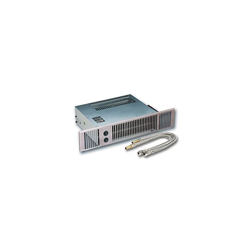 Smiths Hydronic Plinth Heater Space Saver 5 in Stainless Steel Effect
