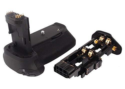 subtel® BG-E14 Empuñadura para Canon EOS 70D EOS 80D EOS 90D Apretón bateria, Agarre batería, Mango Multifuncional