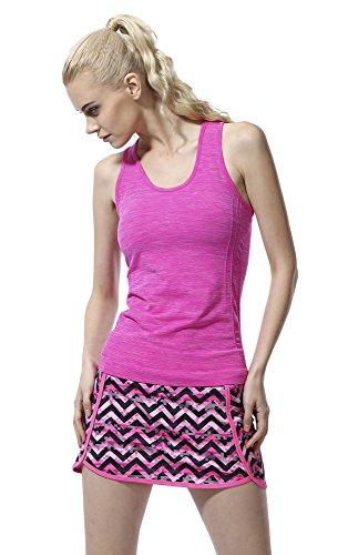 ジュナナ jnana スポーツウェア レディース 速乾 タンクトップ ヨガウェア フィットネスウェア 全8色 Tシャツ レッド 赤 S